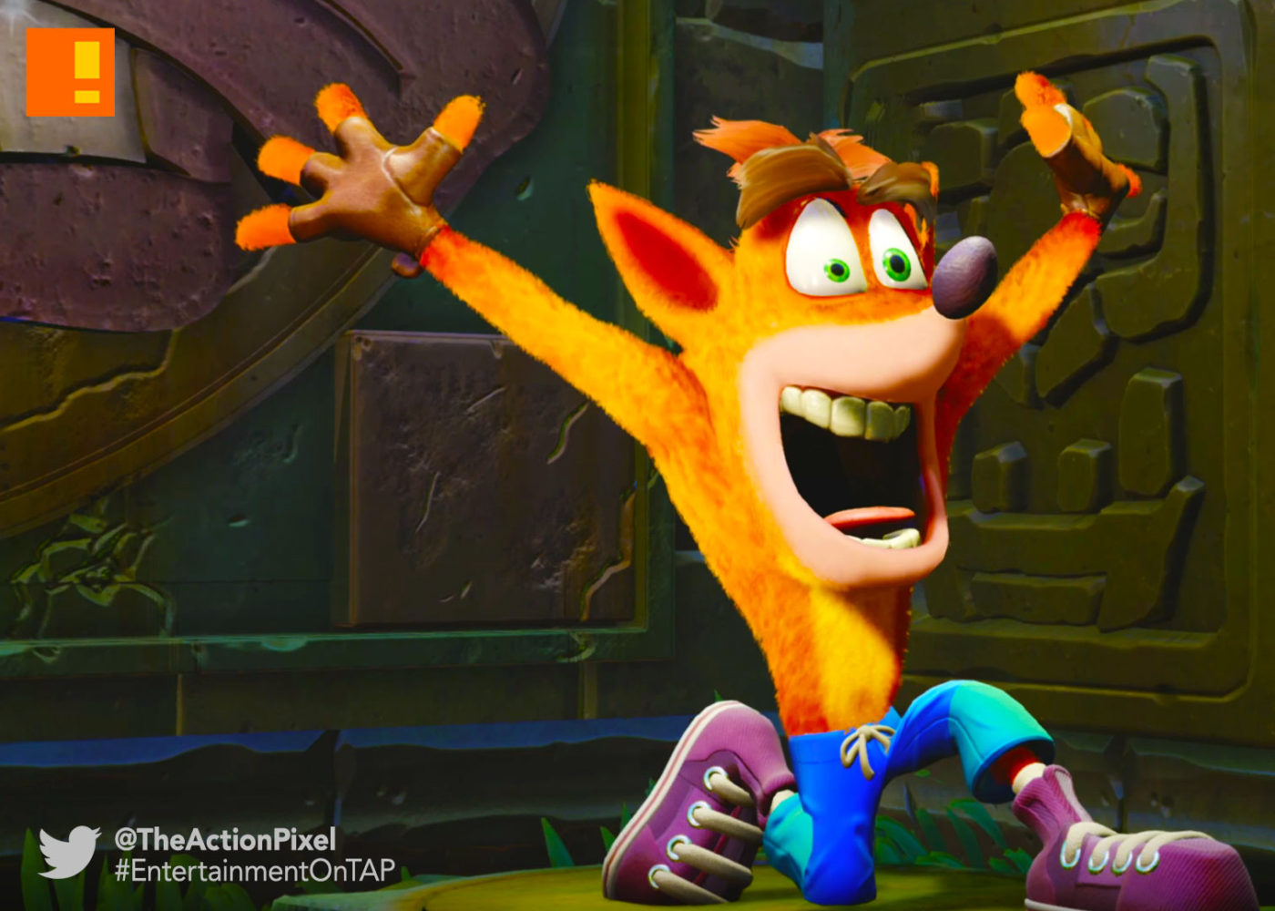 """Crash Bandicoot N. Sane Trilogy"" The Come Back PSX 2016 ..."
