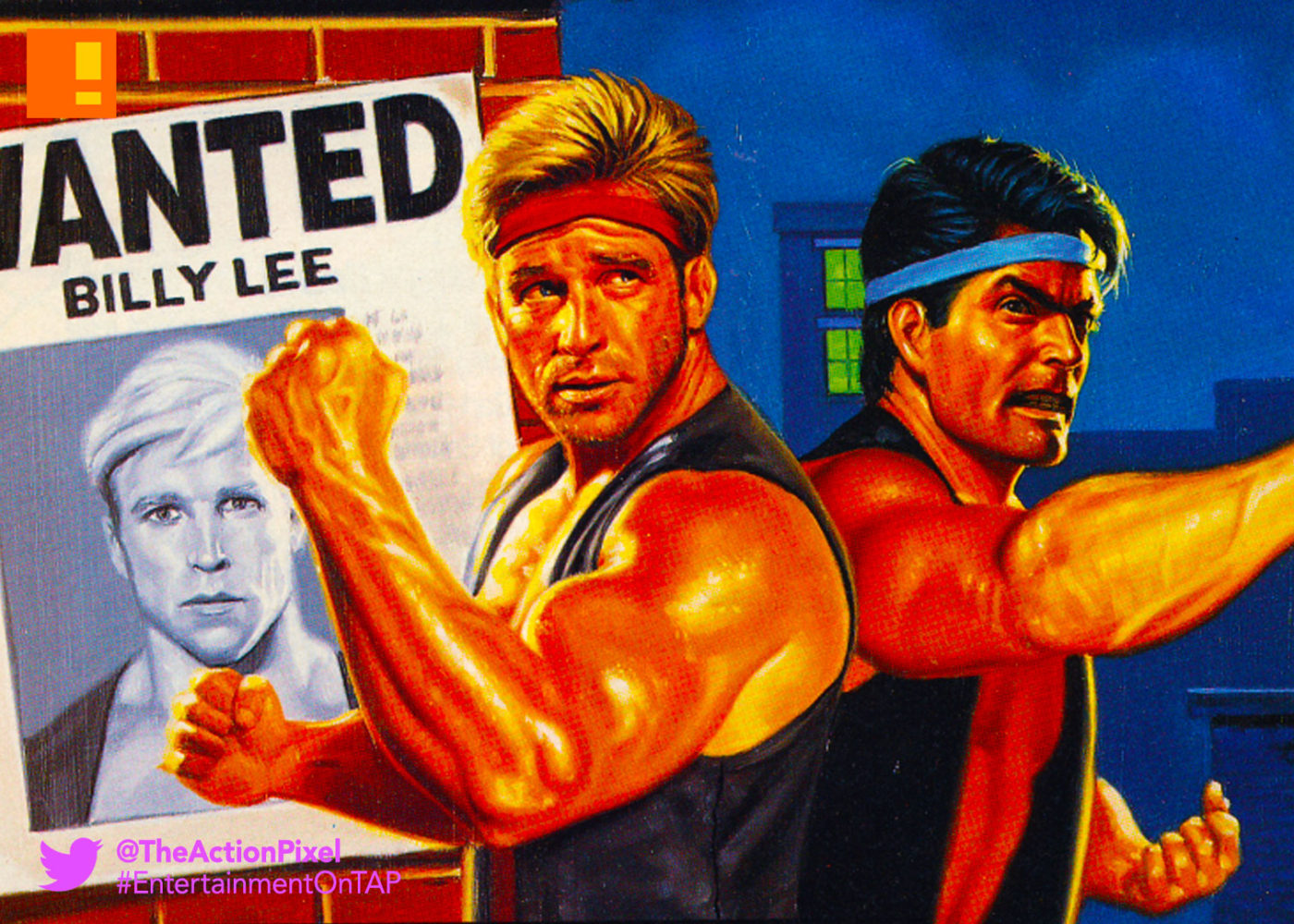 double dragon, arcade, the action pixel, entertainment on tap, arc system,