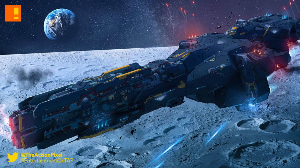 dreadnought, announcement trailer, trailer, yager, Grey Box, Six Foot ,psx, playstation experience