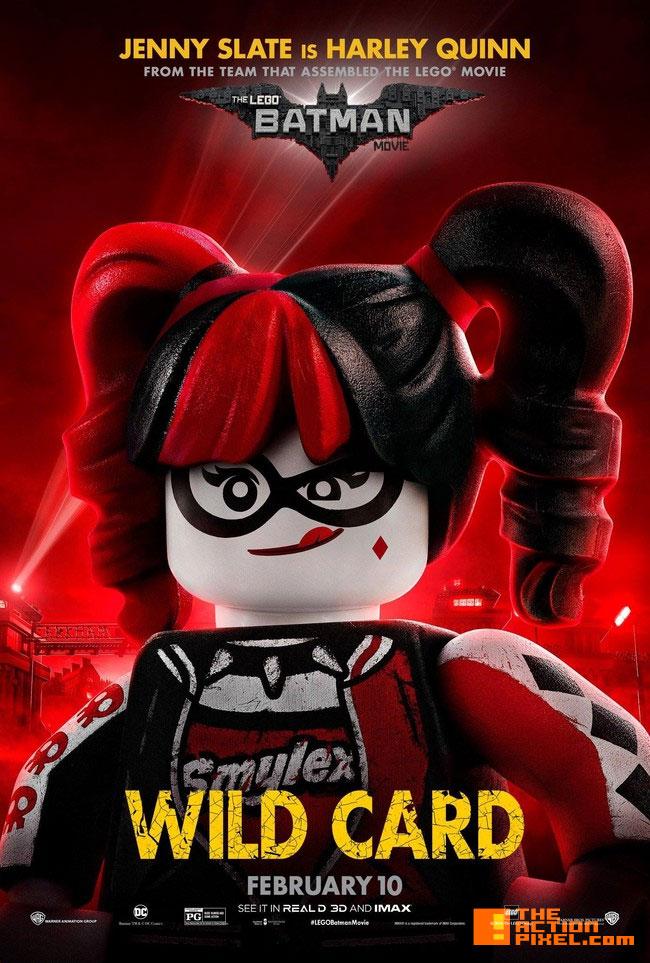 harley quinn,the lego batman movie, lego, warner animation group ,warner bros., wb , warner bros. entertainment, batman, dc comics, dc entertainment, poster ,