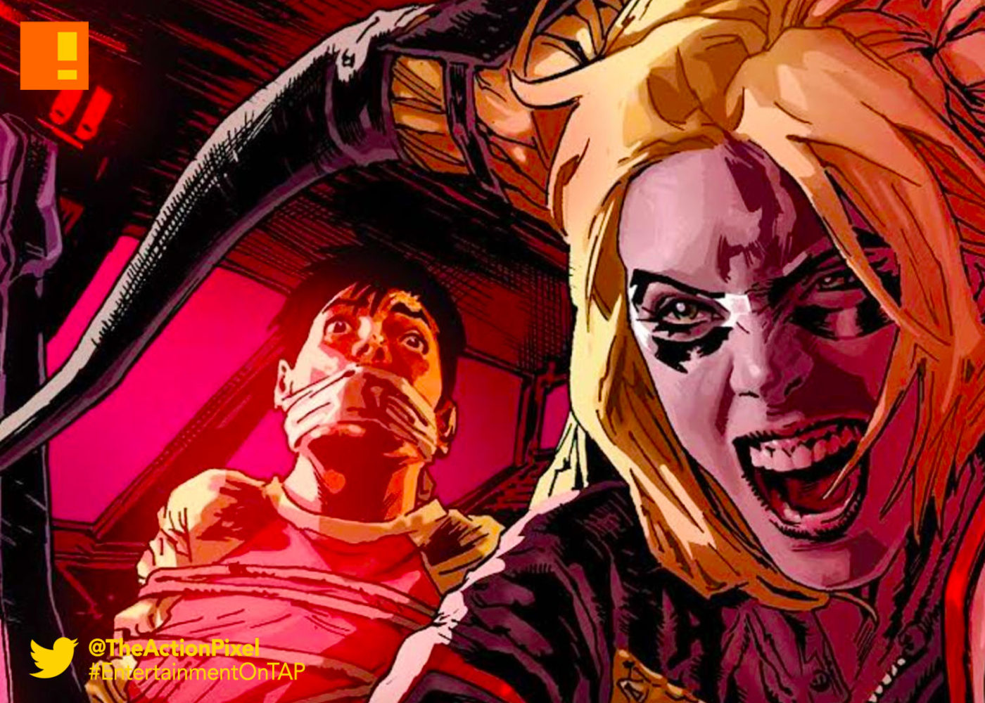 injustice: ground zero, injustice, injustice 2, harley quinn, entertainment on tap, comic series, dc comics, wb games, netherrealm studios,