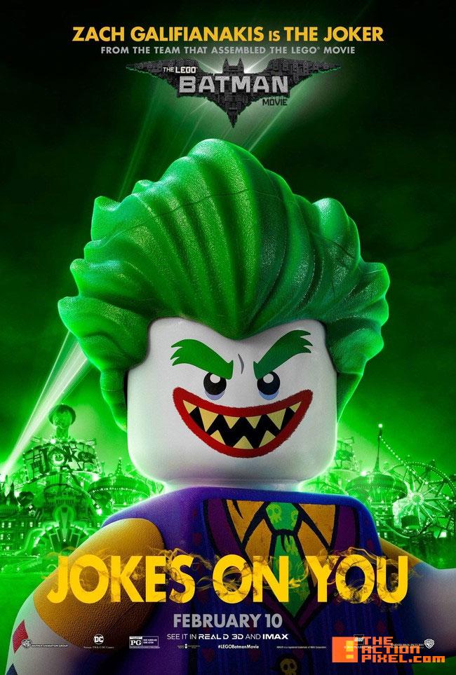 joker,the lego batman movie, lego, warner animation group ,warner bros., wb , warner bros. entertainment, batman, dc comics, dc entertainment, poster ,