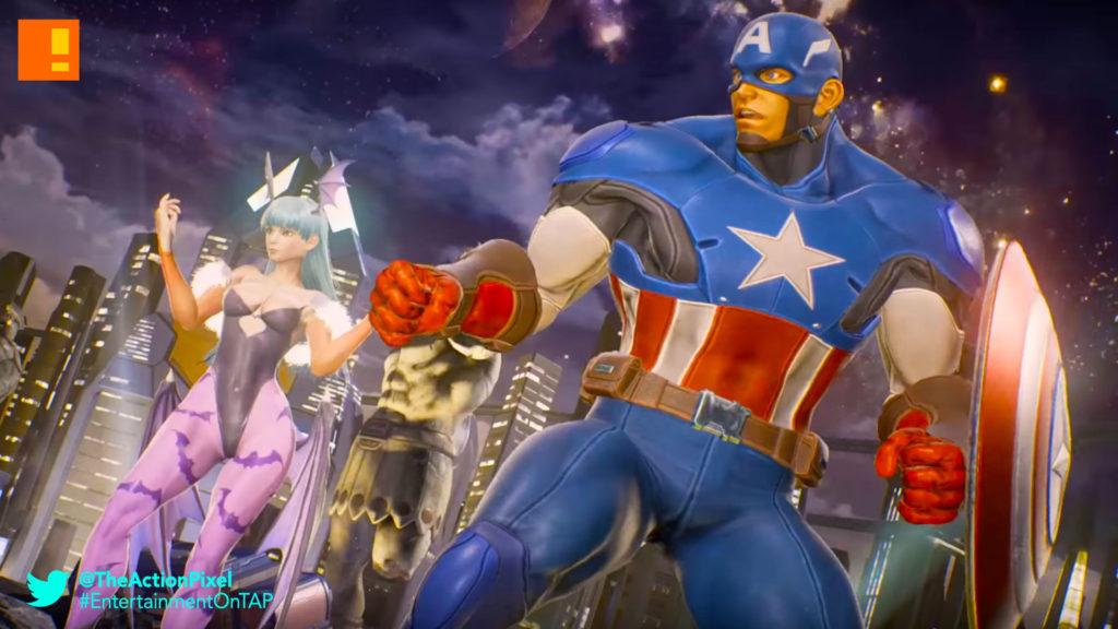 ryu, iron man, mega man, infinity stone, carol danvers, power infinity stone, infinity stone, time infinity stone, tony starks,captain america, steve rogers, morrigan,