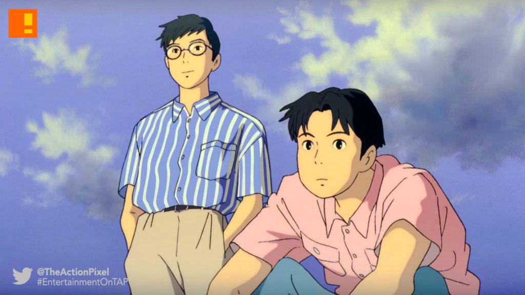 ocean waves,Saeko Himuro, studio ghibli,gkids films, Hayao Miyazaki,