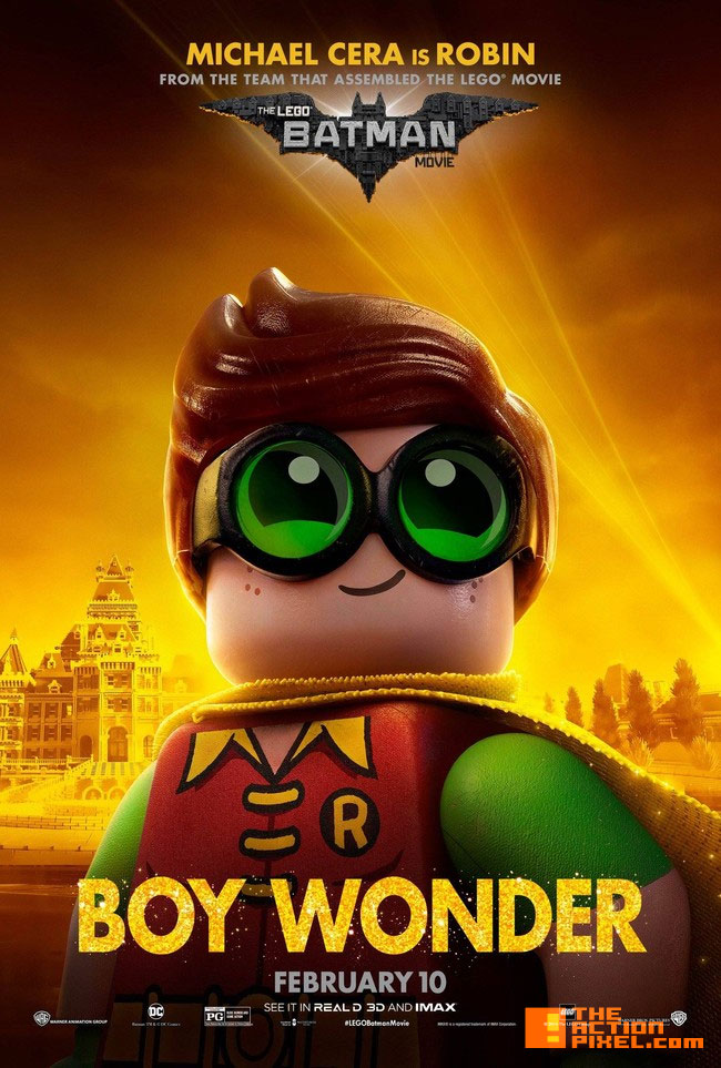 robin ,the lego batman movie, lego, warner animation group ,warner bros., wb , warner bros. entertainment, batman, dc comics, dc entertainment, poster ,