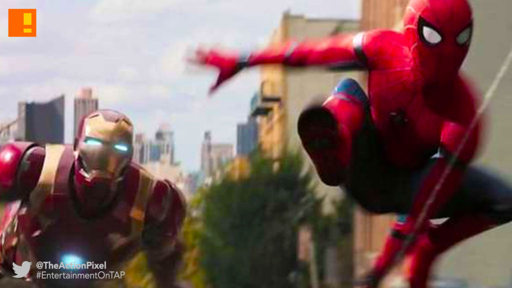 spider-man: homecoming, spider-man, spiderman, homecoming, marvel, marvel comics, disney, marvel studios, sony, the action pixel, entertainment on tap, tom holland,iron man, vulture, shocker