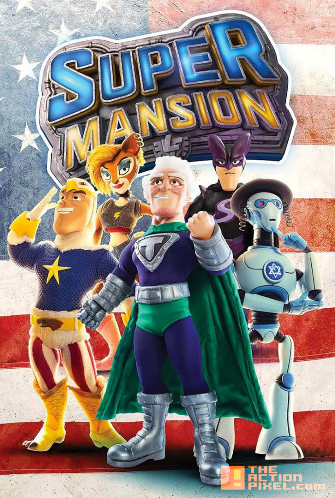 COVER B, PHOTO,supermansion, crackle, the action pixel, entertainment on tap,
