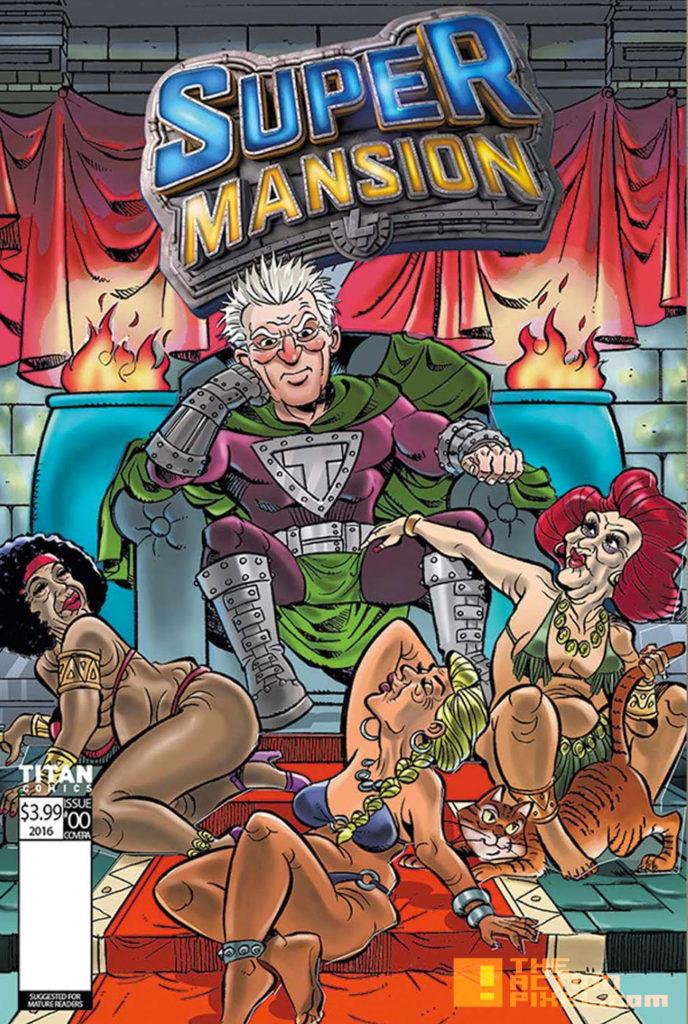COVER D, FERNANDO LEON, supermansion, crackle, the action pixel, entertainment on tap,