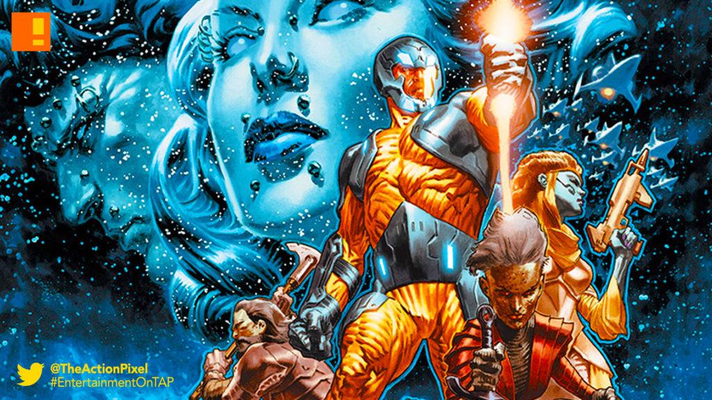 xo man of war, valiant comics, the action pixel,