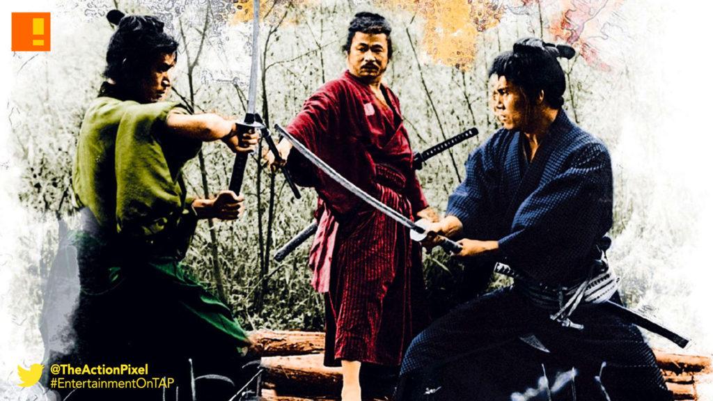 3 outlaw samurai,the action pixel, entertainment on tap
