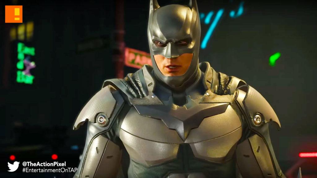 batman, injustice 2, damian, dick, batman, dc comics, netherRealm Studios, wb games, dc entertainment , entertainment on tap, the action pixel, batman,