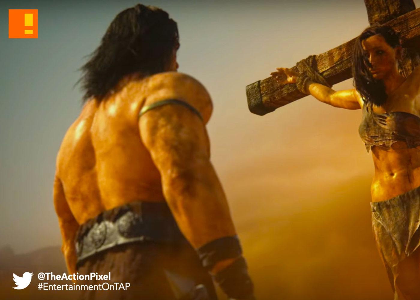 conan exiles, funcom, the action pixel, @theactionpixel, opening cinematic trailer, cinematic, trailer, conan, savage, barbarian, conan the barbarian, sandbox, open world,