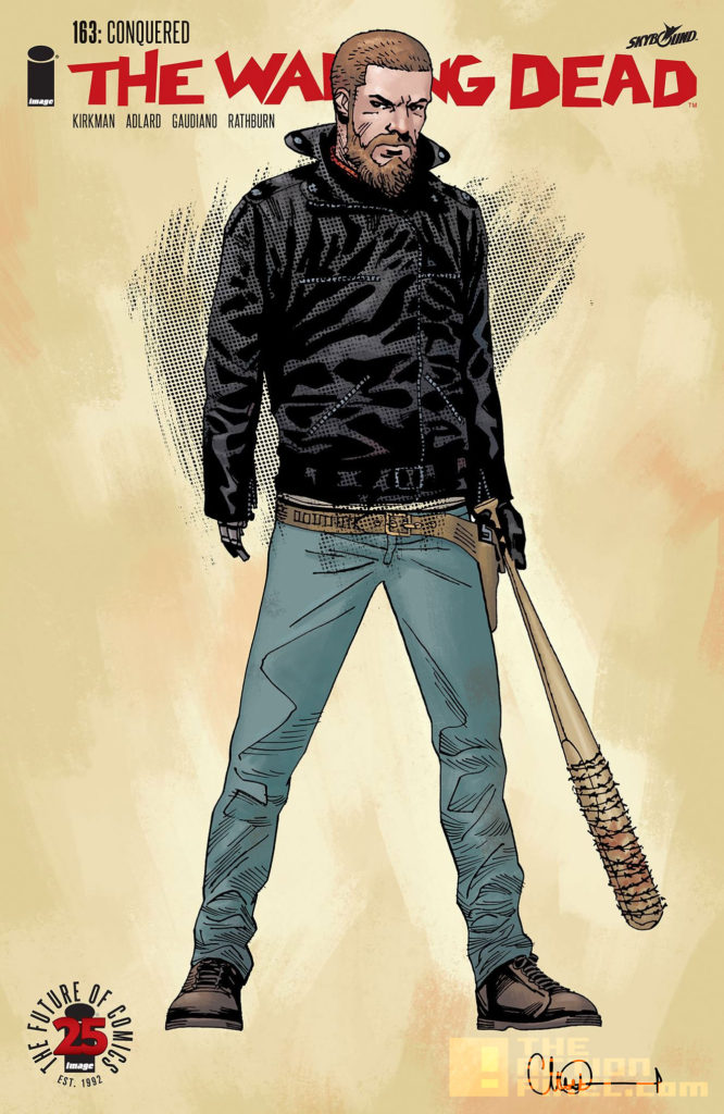 conquered, twd, variant, the walking dead, issue 163, image comics, skybound, skybound entertainment, the action pixel, entertainment on tap,