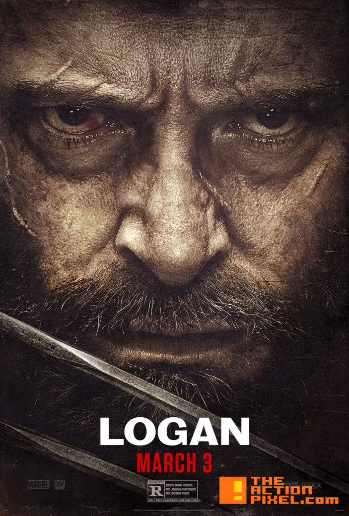 logan, hugh jackman, wolverine, 20th century fox, marvel , marvel comics, entertainment on tap, the action pixel, x-23, dafne keen, patrick stewart, hugh jackman, professor x, xavier, poster, poster 2