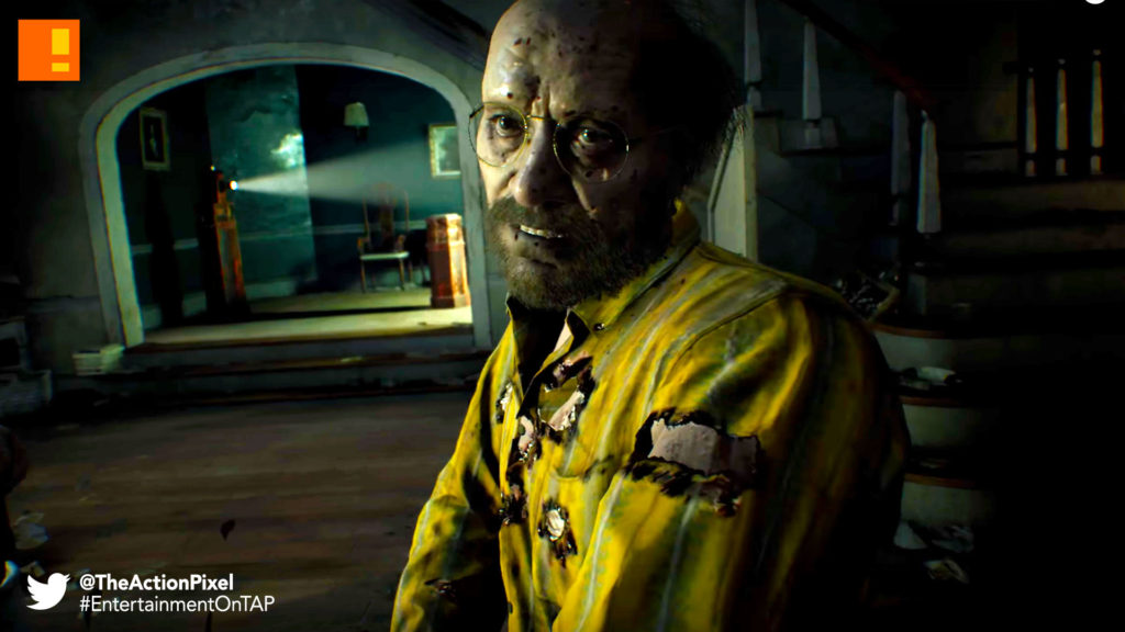 biohazard, tape-4,resident evil, capcom, the action pixel, the bakers, launch trailer, trailer, the action pixel, entertainment on tap