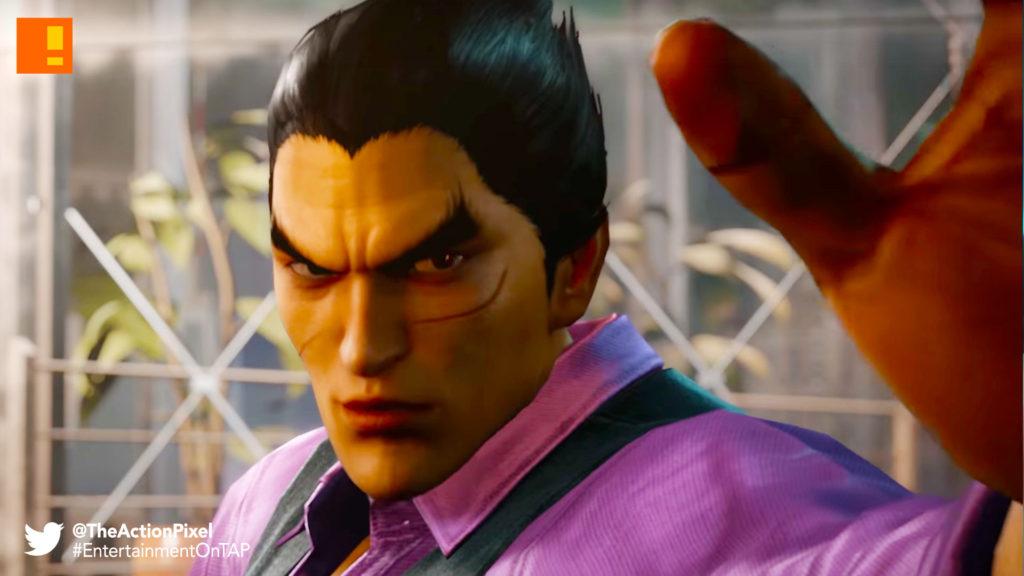Akuma, Heihachi, tekken 7, street fighter, capcom, bandai namco, the action pixel, @theactionpixel