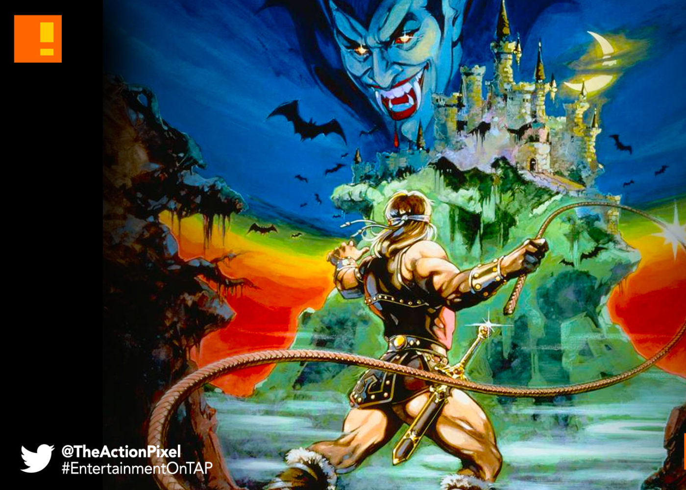 castlevania, the action pixel, adventure time, fred seibert, nickelodeon, entertainment on tap,