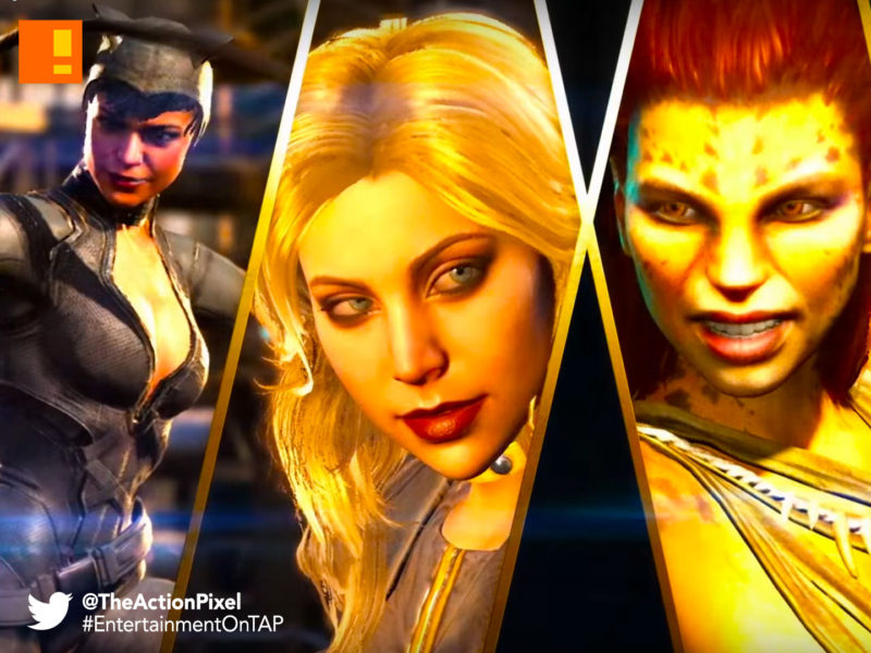 injustice 2, dc comics, netherrealm studios, cheetah, black canary, catwoman, dc comics, poison ivy, trailer, wb games, the action pixel, entertainment on tap