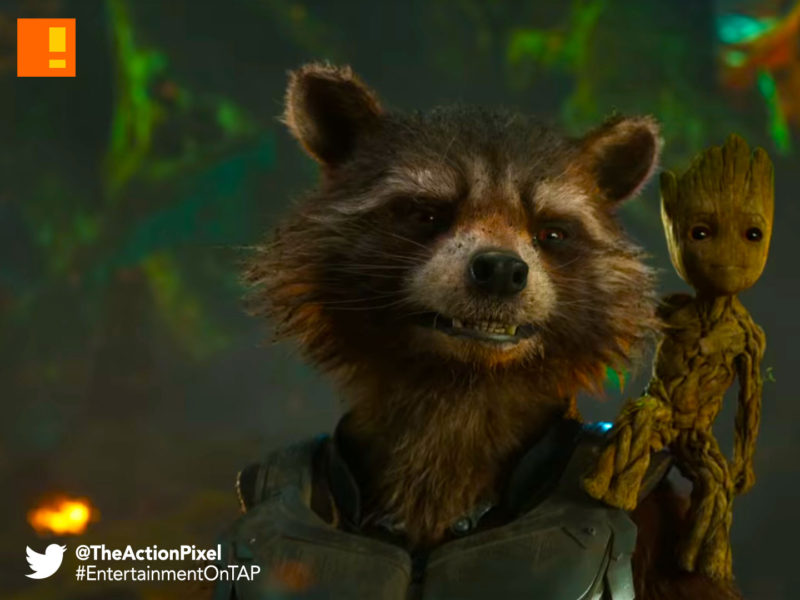 baby groot, starlord, gamora, drax, gotg, gotg vol. 2 , guardians of the galaxy, guardians of the galaxy vol. 2, entertainment on tap, marvel, marvel studios , marvel comics, teaser trailer, entertainment on tap, the action pixel, mantis,