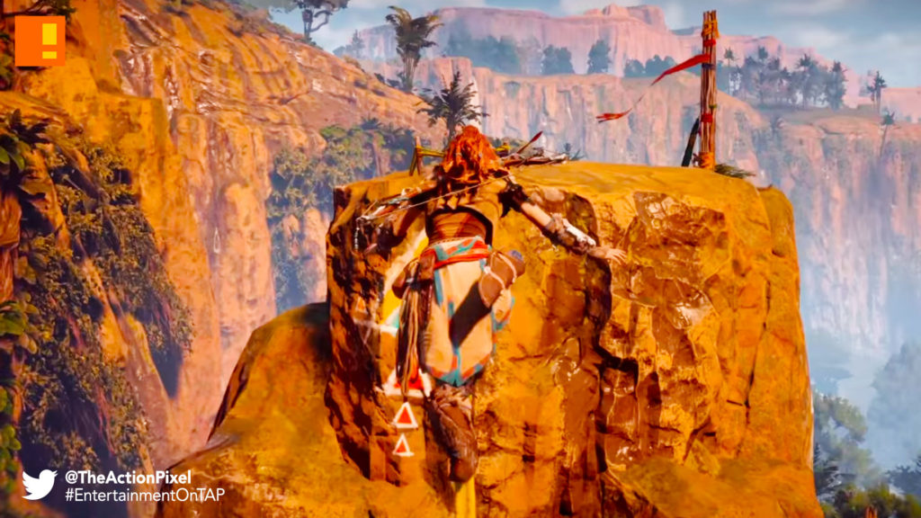 horizon zero dawn, playstation, the action pixel, entertainment on tap