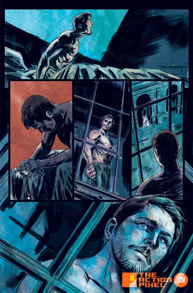 penny dreadful, the awaking, the action pixel, titan comics, showtime ,preview, panel art