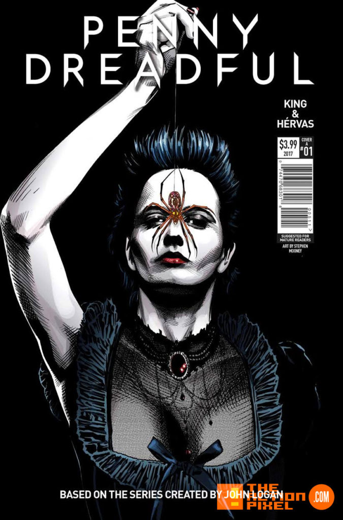 penny dreadful, the awaking, the action pixel, titan comics, showtime ,cover a