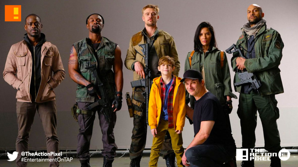 Sterling K. Brown, Trevante Rhodes, Boyd Holbrook, Jacob Tremblay, Olivia Munn,  Keegan Michael-Key, shane black,the predator