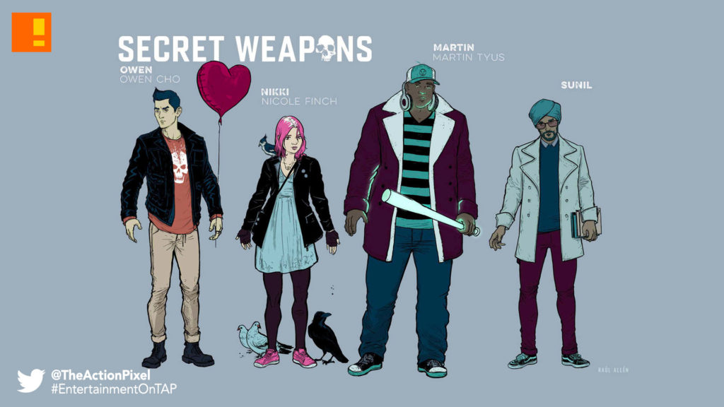 secret weapons, valiant comics, arrival,  Eric Heisserer, the action pixel, entertainment on tap