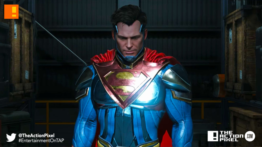 superman, injustice 2, wb games, netherrealm studios, the action pixel, dc comics, warner bros. entertainment , the action pixel, superman, dc comics