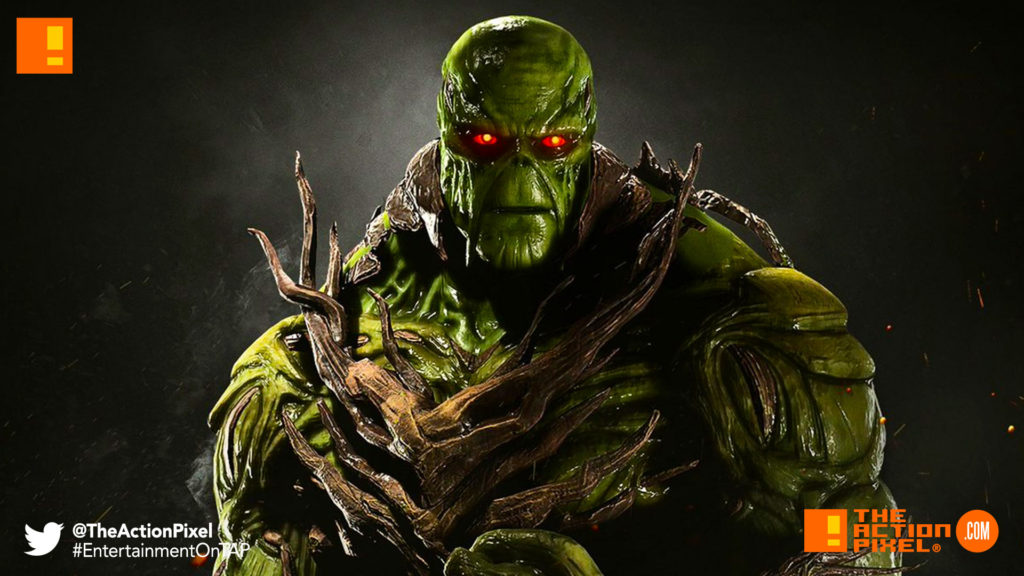 swamp thing, injustice 2, dc comics, wb games, warner bros., warner bros, netherRealm studios, entertainmment on tap
