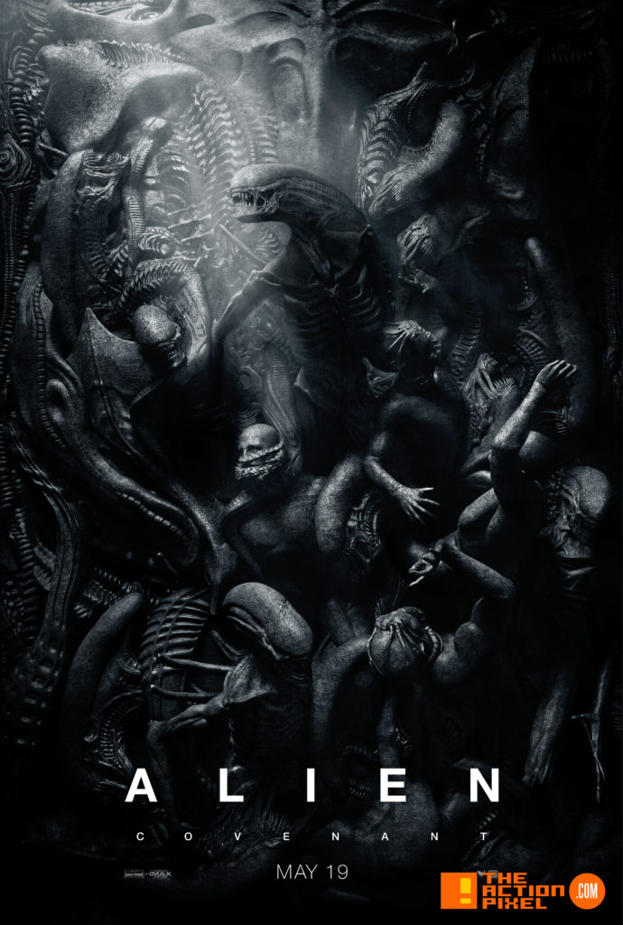 ALIEN,poster, 20th century fox, alien: covenant, alien covenant, the action pixel, xenomorph, covenant, entertainment on tap,
