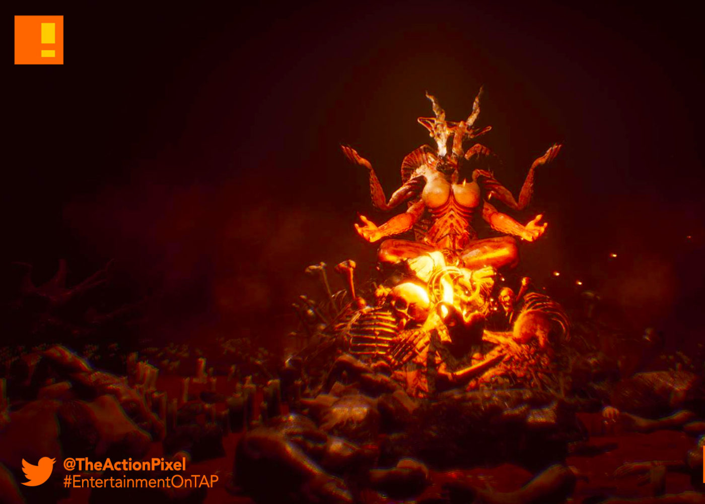 agony, mad mind studios, evil, hell, baphomet, trailer, entertainment on tap, the action pixel