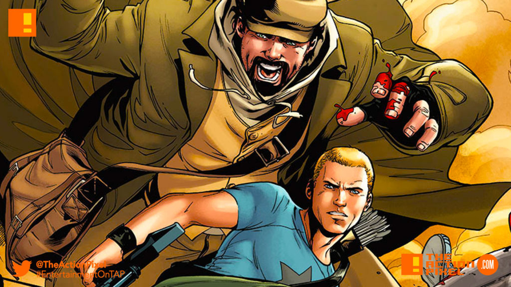 archer and armstrong, valiant comics, the action pixel,entertainment on tap, archer & armstrong, the action pixel, entertainment on tap,