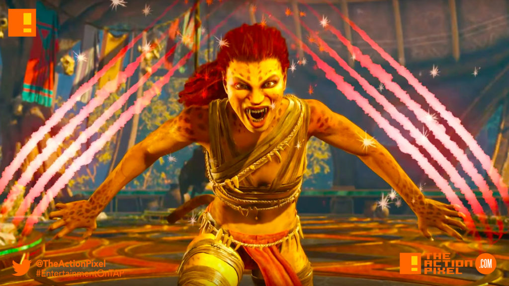 cheetah,  injustice 2, wb games, netherrealm studios, the action pixel, dc comics, warner bros. entertainment , the action pixel, superman, dc comics, batman
