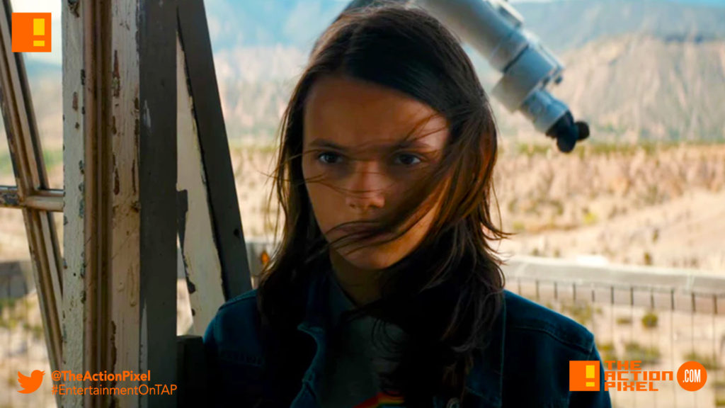 dafne keen, x-23, the action pixel, x-men, wolverine, logan, 20th century fox, marvel, hugh jackman, dafne keen, tap reviews, #tapreviews, review, rating, movie review
