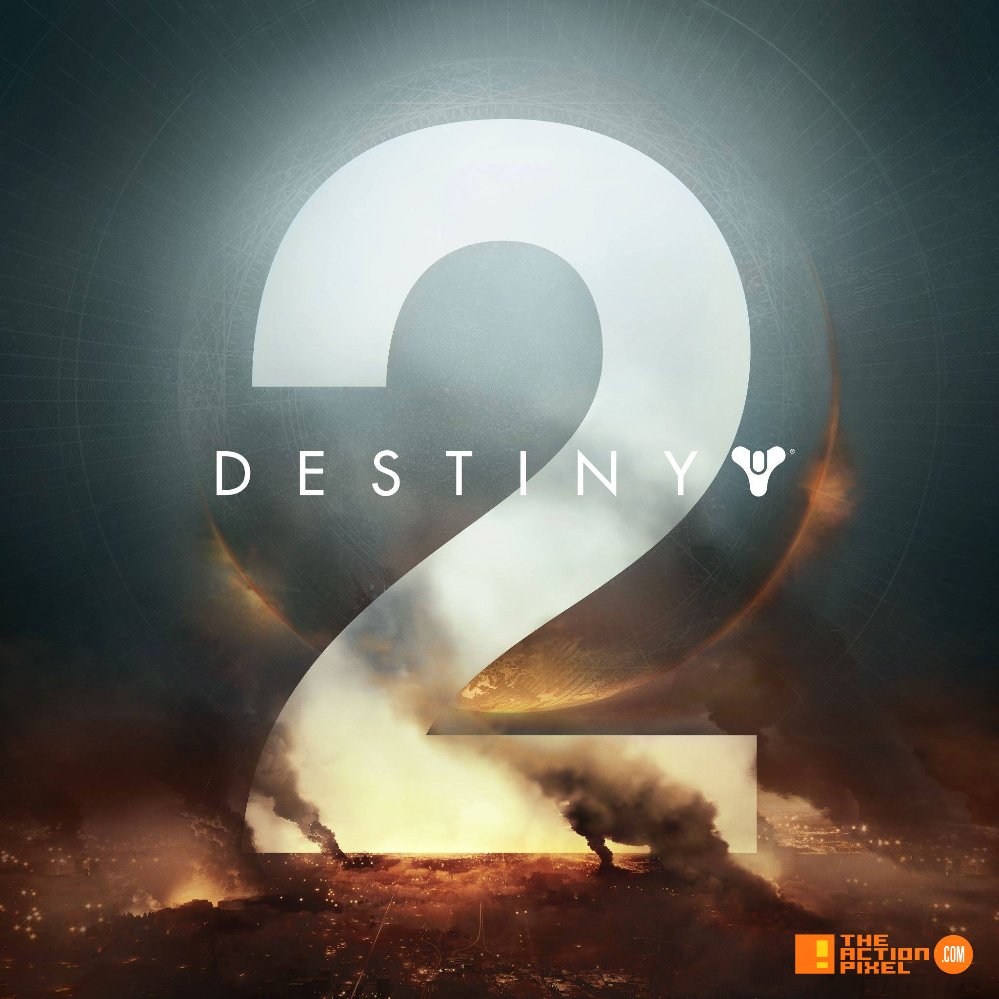 """Destiny 2"" key art and logo revealed - The Action Pixel"