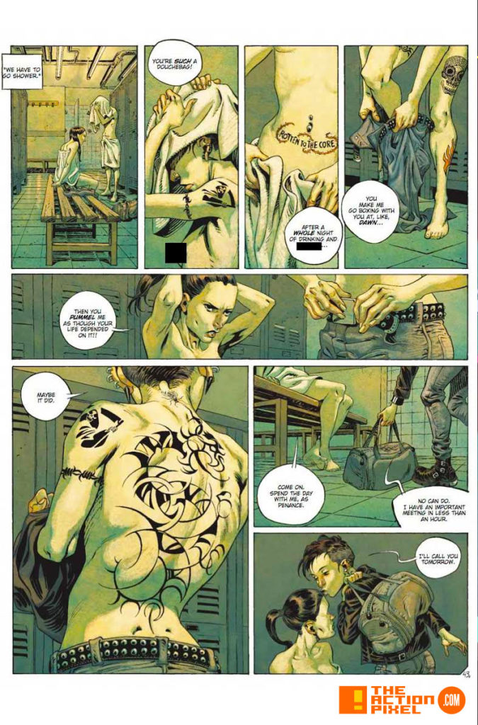 the girl with the dragon tattoo, the girl with the dragon tattoo: millennium,  titan comics, the action pixel, entertainment on tap