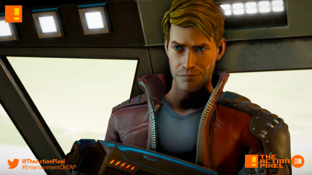 gotg, telltale games, telltale series, marvel, guardians of the galaxy, entertainment on tap, the action pixel,rocket ,raccoon, star-lord, drax, gamora,trailer, official trailer,