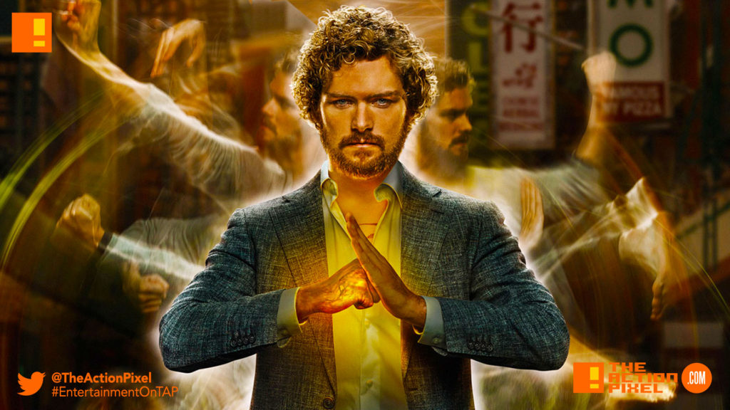 iron fist, tap reviews, season 1, marvel, netflix, the action pixel, entertainment on tap, abc studios, review, film review, comic book tv series, danny rand, finn jones,