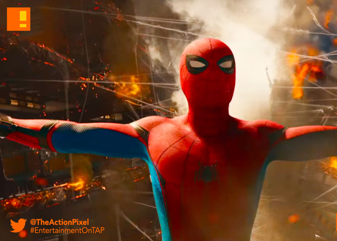 spiderman, poster spider-man: homecoming, spider-man, spiderman, homecoming, marvel, marvel comics, disney, marvel studios, sony, the action pixel, entertainment on tap, tom holland, spider-man, peter parker, spidey, new york, teaser, trailer,