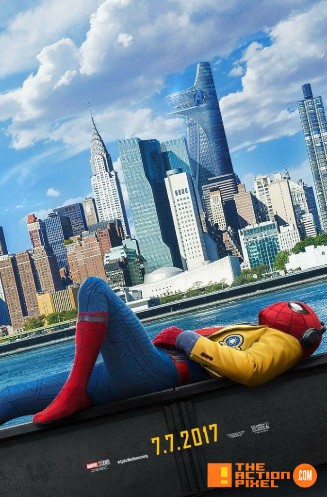 spiderman, poster spider-man: homecoming, spider-man, spiderman, homecoming, marvel, marvel comics, disney, marvel studios, sony, the action pixel, entertainment on tap, tom holland,