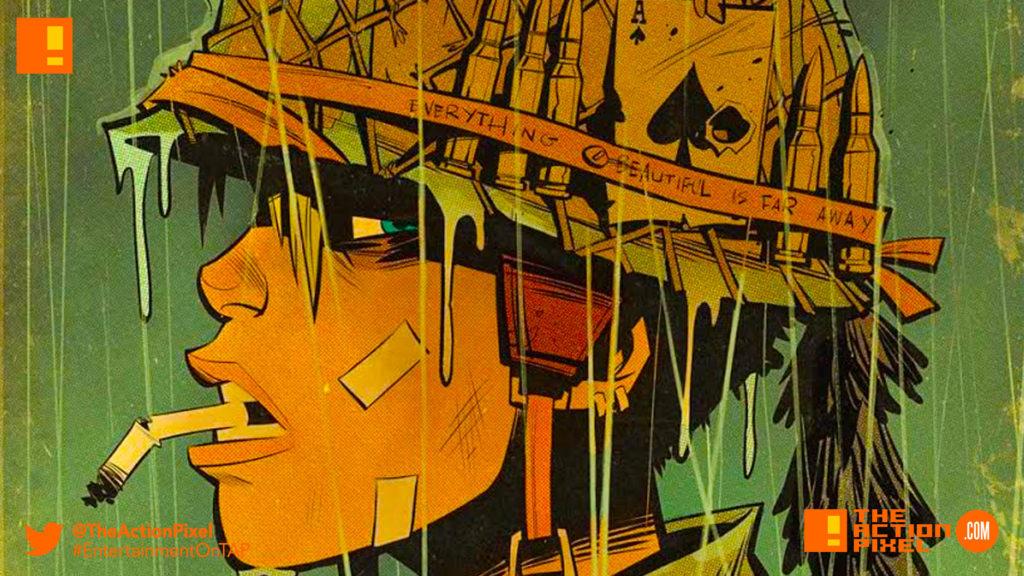 world war tank girl, cover a, Brett Parson, the action pixel, entertainment on tap,titan comics,