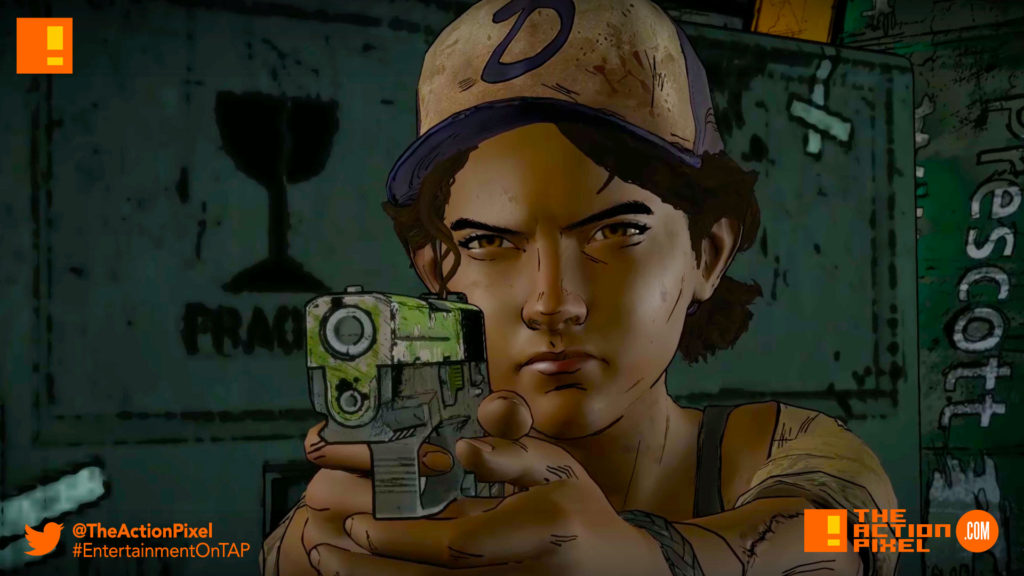 the walking dead, a new frontier, skybound, twd, the walking dead: a new frontier, the action pixel,