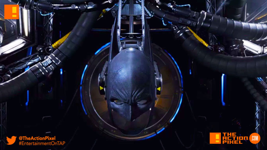 BATMAN ARKHAM VR, BATMAN, ARKHAM, DC COMICS, ROCKSTEADY STUDIOS, WB GAMES, DC COMICS, BATMAN MASK, OCULUS, HTC, OCULUS RIFT, RIFT, ENTERTAINMENT ON TAP, THE ACTION PIXEL
