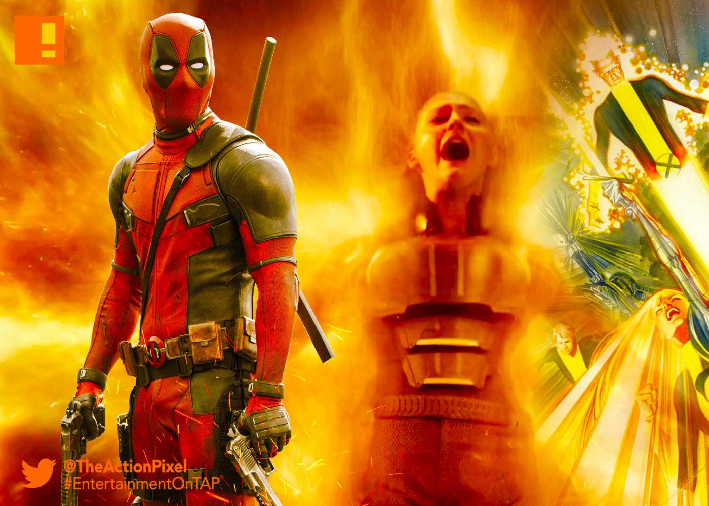 deadpool, dark phoenix, new mutants, fox, 20th century fox, marvel, x-men, entertainment on tap, the action pixel