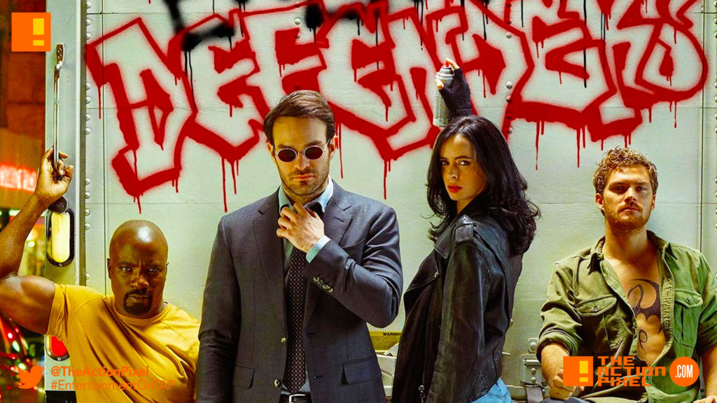 defenders, netflix,marvel, the action pixel, entertainment on tap,