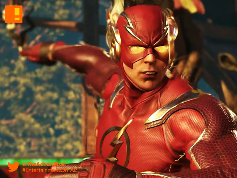 flash, the flash, barry allen, gorilla grodd, injustice 2, wb games, netherrealm studios, the action pixel, dc comics, warner bros. entertainment , the action pixel, superman, dc comics, trailer, introducing the flash