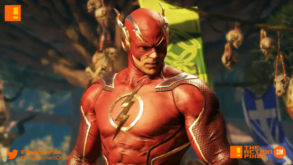 flash, the flash, barry allen, gorilla grodd, injustice 2, wb games, netherrealm studios, the action pixel, dc comics, warner bros. entertainment , the action pixel, superman, dc comics