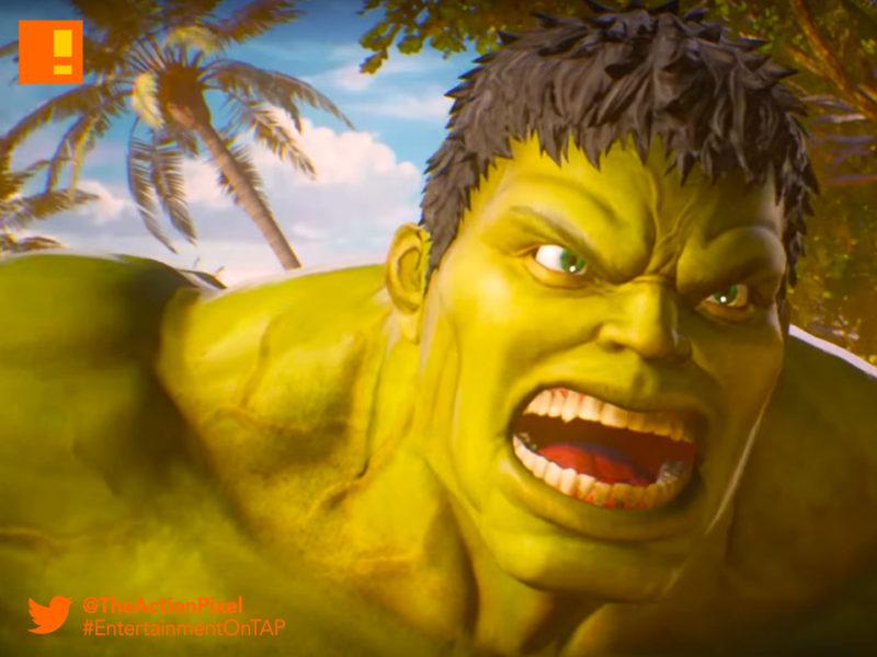 marvel Vs. Capcom, infinite, metroid, ryu, carol Danvers, iron man, tony starks, ms. marvel, entertainment on tap, marvel, capcom, trailer, marvel vs. capcom: infinite, the action pixel, entertainment on tap,ultron, hulk, trailer,story trailer,story trailer 1,