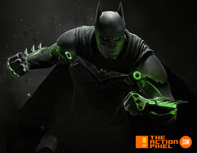 injustice 2, the action pixel entertainment on tap, injustice, dc comics, dc characters, netherrealm studios, wb games,